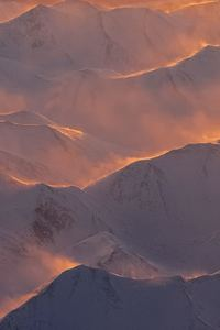 240x320 Alaska Mountains Range Morning
