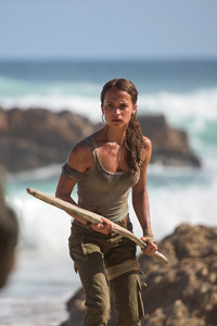 Alicia Vikander As Lara Croft In Tomb Raider Movie