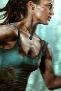 540x960 Alicia Vikander As Tomb Raider