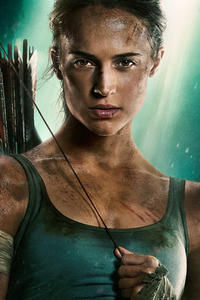540x960 Alicia Vikander Tomb Raider 2018 HD