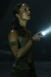 Alicia Vikander Tomb Raider 2018