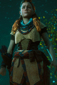 Aloy Horizon Zero Dawn 2017 4k