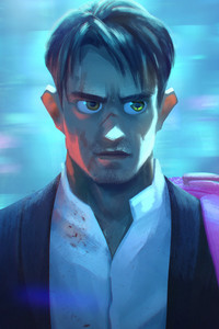 320x568 Altered Carbon FanArt