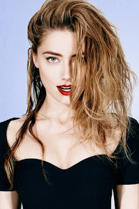 240x320 Amber Heard Photoshoot 2018