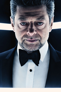Andy Serkis As Supreme Leader Snoke In British Vogue 2017