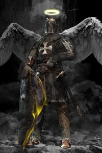 Angel Fantasy Knight