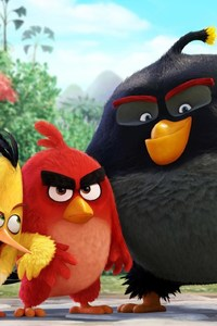 240x320 Angry Birds Movie Original