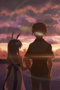 Anime Boy and Girl Alone