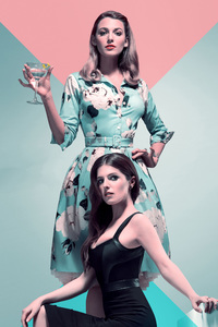 240x400 Anna Kendrick In A Simple Favor 4k