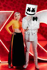 720x1280 Anne Marie And Marshmello