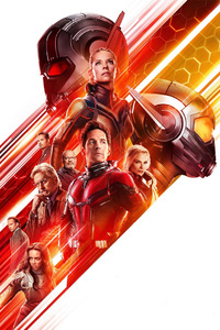 Ant Man And The Wasp Movie 2018 Poster