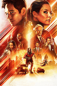 1280x2120 Ant Man And The Wasp Movie International Poster