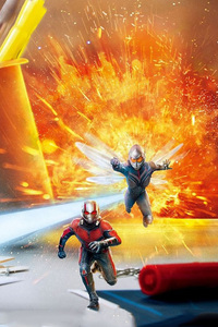 1080x1920 Ant Man And The Wasp Poster 2018