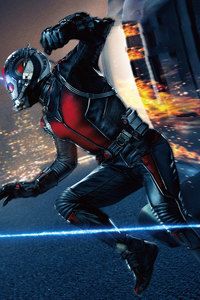 360x640 Ant Man Movie Poster 5k