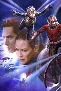 480x800 Antman And The Wasp Art