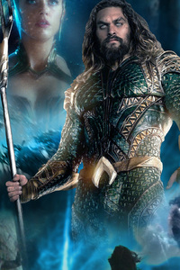720x1280 Aquaman 2018 Movie Poster