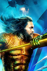 720x1280 Aquaman And Ocean Master International Poster 8k