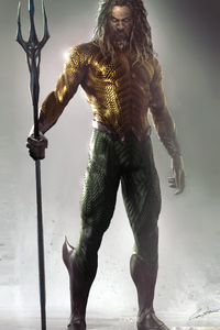 1080x2160 Aquaman Concept Arts