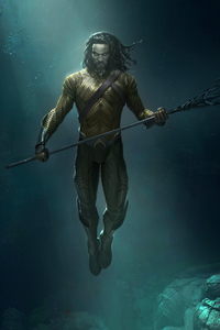 1080x2160 Aquaman Concept Artwork