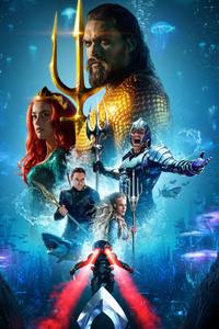 720x1280 Aquaman International Poster