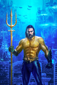 1080x2160 Aquaman Jason Momoa 4k New