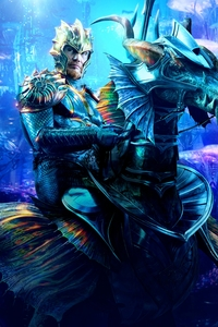 1080x2280 Aquaman King Nereus