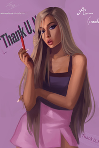 720x1280 Ariana Grande Fan Art