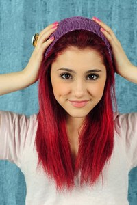 Ariana Grande Red Hairs