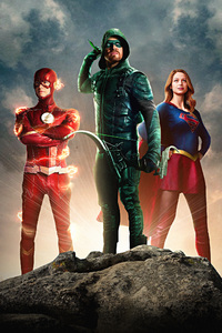 Arrow Flash Supergirl Dctv Trinity