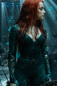 1440x2960 Arthur Curry And Amber Heard As Mera In Aquaman 2018