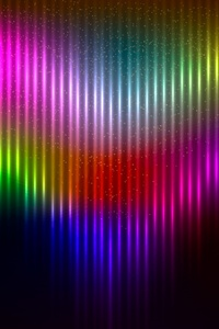 640x1136 Artistic Colors Rainbow Background 4k
