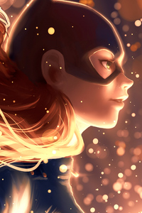 Arts Batgirl New