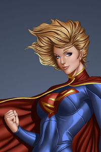 1280x2120 Arts Supergirl
