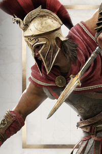 640x1136 Assassins Creed Odyssey Alexios Action 5k