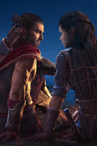 2160x3840 Assassins Creed Odyssey Love Story With Kyra 4k