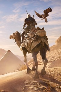 320x480 Assassins Creed Origins Pyramids E3 Concept Art