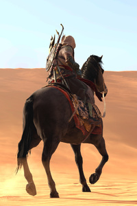 Assassins Creed Origins Sand Horse 4k