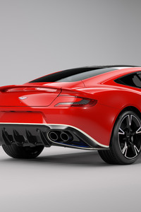 Aston Martin Vanquish S Red Arrows Edition 2017