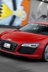 640x960 Audi R8 Red
