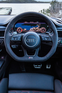 Audi Rs5 Coupe Interior 4k