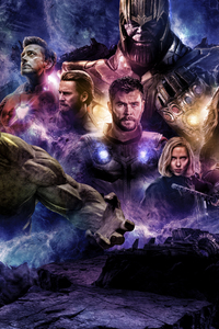 800x1280 Avengers 4 2019 Movie Poster