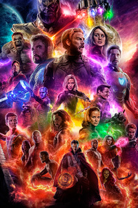 800x1280 Avengers 4 End Game 2019