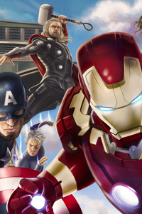 Avengers Assemble Artwork