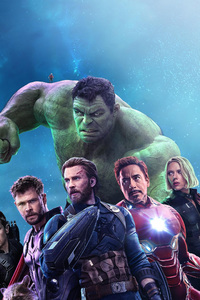 800x1280 Avengers End Game 2019 Movie