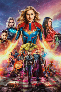 240x400 Avengers End Game