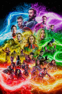 320x568 Avengers End Game Fan Artwork