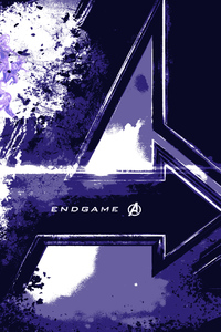 750x1334 Avengers End Game Logo