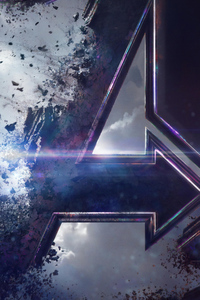 720x1280 Avengers End Game Poster