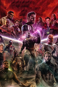 Avengers Infinity War 2018 Artwork Fan Made