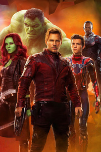 Avengers Infinity War 2018 Empire Magazine Cover Photoshoot